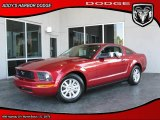 2007 Redfire Metallic Ford Mustang V6 Deluxe Coupe #27413739