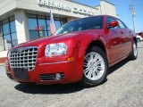 2008 Inferno Red Crystal Pearl Chrysler 300 Touring #27413744