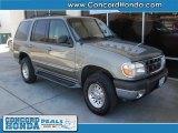 2001 Spruce Green Metallic Ford Explorer XLT #27440481