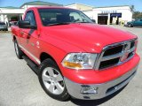 2009 Flame Red Dodge Ram 1500 SLT Regular Cab #27440553