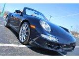 2008 Midnight Blue Metallic Porsche 911 Carrera 4S Cabriolet #27170165
