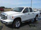 2007 Bright White Dodge Ram 1500 Big Horn Edition Quad Cab 4x4 #27449466