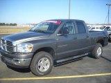 2007 Mineral Gray Metallic Dodge Ram 1500 SLT Quad Cab 4x4 #27449470