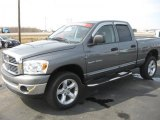 2007 Mineral Gray Metallic Dodge Ram 1500 Big Horn Edition Quad Cab 4x4 #27449471