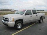2008 Silver Birch Metallic Chevrolet Silverado 1500 Z71 Crew Cab 4x4 #27449475