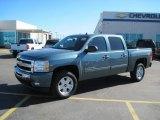 2010 Black Chevrolet Silverado 1500 LT Crew Cab 4x4 #27449383
