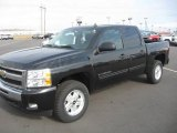2010 Black Granite Metallic Chevrolet Silverado 1500 LT Crew Cab 4x4 #27449390