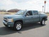 2010 Blue Granite Metallic Chevrolet Silverado 1500 LT Crew Cab 4x4 #27449403