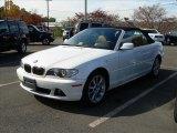 2006 Alpine White BMW 3 Series 330i Convertible #27449642
