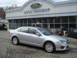 2010 Brilliant Silver Metallic Ford Fusion Hybrid #27449155