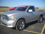 2009 Bright Silver Metallic Dodge Ram 1500 SLT Regular Cab 4x4 #27449500