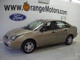 2003 Arizona Beige Metallic Ford Focus SE Sedan #27449174