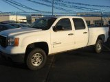 2007 Summit White GMC Sierra 2500HD SLE Crew Cab #27449508
