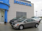 2006 Galaxy Gray Metallic Honda Civic LX Coupe #27449010