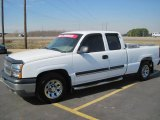 2005 Summit White Chevrolet Silverado 1500 LS Extended Cab #27449451