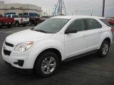 2010 Summit White Chevrolet Equinox LS #27449455