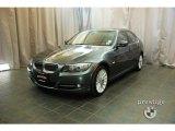 2009 Tasman Green Metallic BMW 3 Series 335i Sedan #27449023
