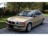 2000 Light Yellow Metallic BMW 3 Series 328i Sedan #27449198