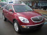 2009 Red Jewel Tintcoat Buick Enclave CXL AWD #27449212
