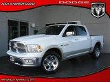 2010 Stone White Dodge Ram 1500 Laramie Crew Cab 4x4 #27449053