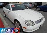 2001 Glacier White Mercedes-Benz SLK 230 Kompressor Roadster #27449228