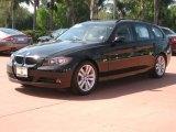 2007 Black Sapphire Metallic BMW 3 Series 328i Wagon #27449065