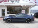 2001 True Blue Metallic Ford Mustang GT Coupe #27449235