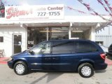 2003 Patriot Blue Pearlcoat Chrysler Town & Country LX #27449238