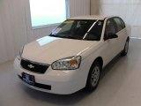 2007 White Chevrolet Malibu LS Sedan #27449596