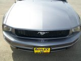 2006 Tungsten Grey Metallic Ford Mustang V6 Premium Convertible #27449097