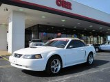 2002 Oxford White Ford Mustang GT Convertible #27499215