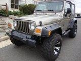 2006 Light Khaki Metallic Jeep Wrangler Sport 4x4 #27499366