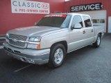 2005 Silver Birch Metallic Chevrolet Silverado 1500 LS Crew Cab #27499235