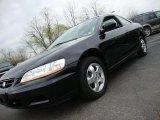 2002 Nighthawk Black Pearl Honda Accord EX Coupe #27498899
