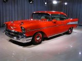 1957 Chevrolet Bel Air Vermillion Red