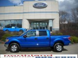 2010 Blue Flame Metallic Ford F150 XLT SuperCrew 4x4 #27498929
