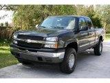 2005 Dark Gray Metallic Chevrolet Silverado 1500 LS Extended Cab 4x4 #27499101