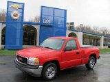 2001 Fire Red GMC Sierra 1500 SL Regular Cab #27498984
