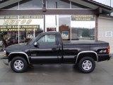 2000 Onyx Black Chevrolet Silverado 1500 LS Regular Cab 4x4 #2747004
