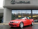 2006 Electric Red BMW 3 Series 330i Convertible #27499336