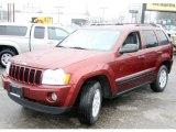 2006 Red Rock Crystal Pearl Jeep Grand Cherokee Laredo 4x4 #27545000