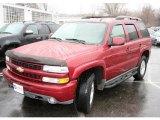 2005 Sport Red Metallic Chevrolet Tahoe Z71 4x4 #27545002