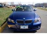 2007 Montego Blue Metallic BMW 3 Series 335i Sedan #27543944