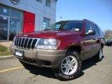 2003 Jeep Grand Cherokee Dark Garnet Red Pearl