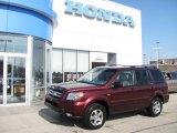 2007 Dark Cherry Pearl Honda Pilot EX 4WD #27544223