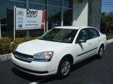 2005 White Chevrolet Malibu Sedan #27544110