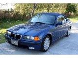 1998 Avus Blue Pearl BMW 3 Series 328i Convertible #27544405