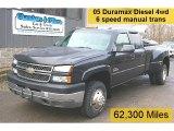 2005 Chevrolet Silverado 3500 Dark Gray Metallic