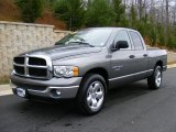 2005 Mineral Gray Metallic Dodge Ram 1500 SLT Quad Cab #27544836