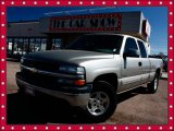 2002 Light Pewter Metallic Chevrolet Silverado 1500 LT Extended Cab 4x4 #27544409